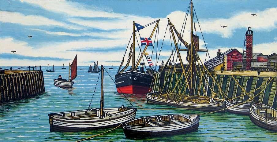 Whitstable Harbour Recent Memoies